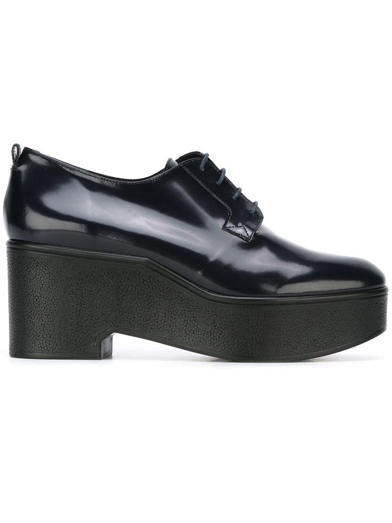 7fc08df9955 Lyst - Robert Clergerie Xonca Leather Lace-up Shoes in Blue