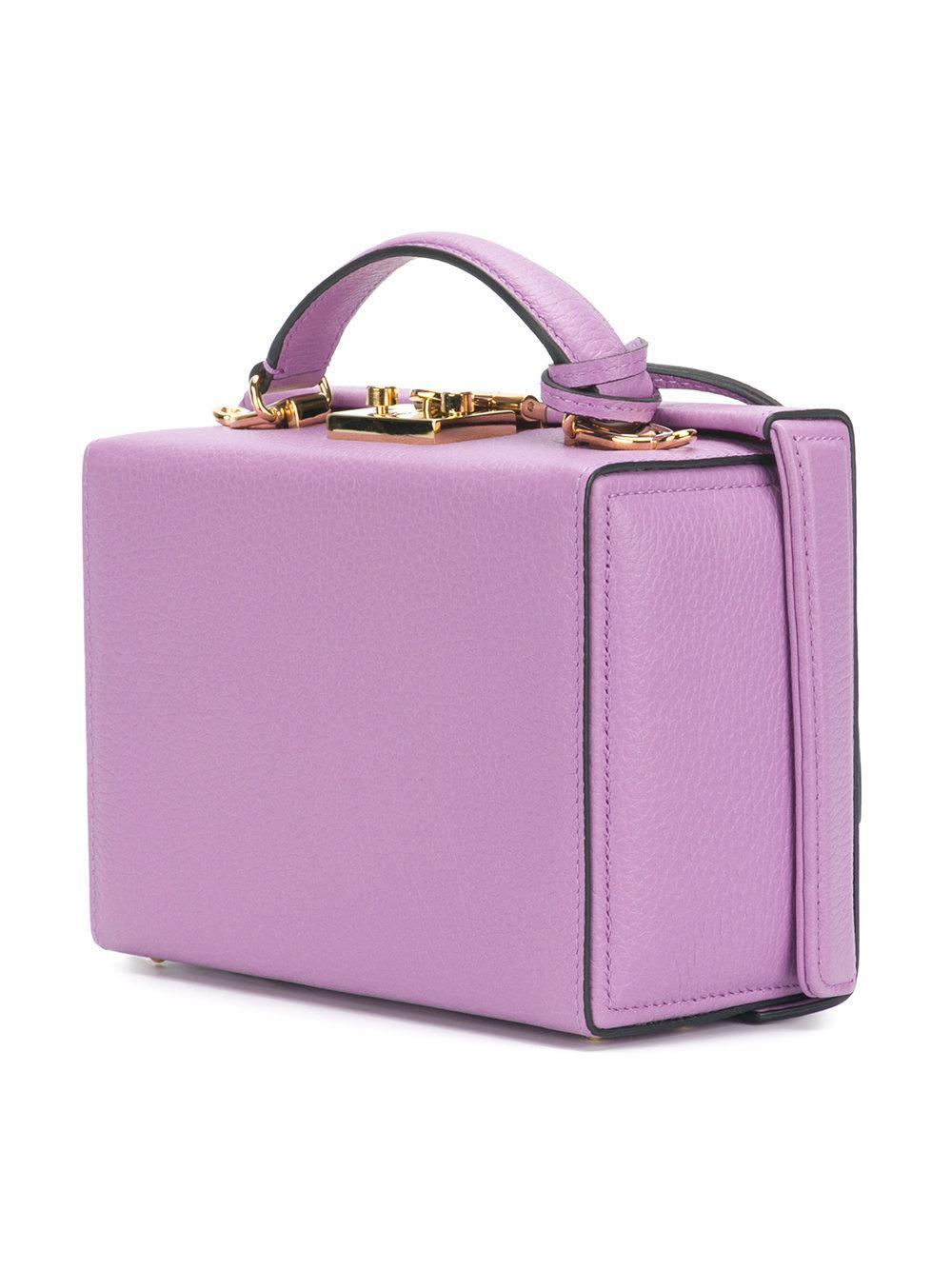 mini box bag - Pink & Purple Mark Cross pkuuQxv