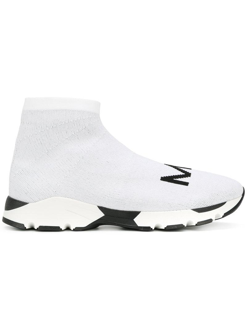 ankle-length sock sneakers - Black Maison Martin Margiela 5AuSCsN