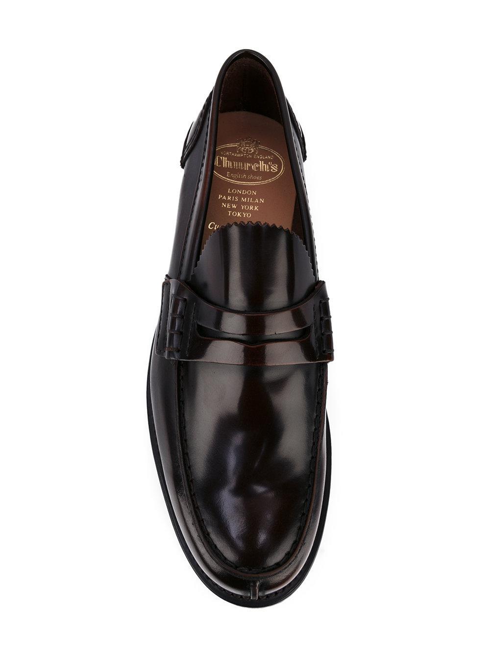ed706e0c32f Church s - Brown Tunbridge Loafers for Men - Lyst. View fullscreen