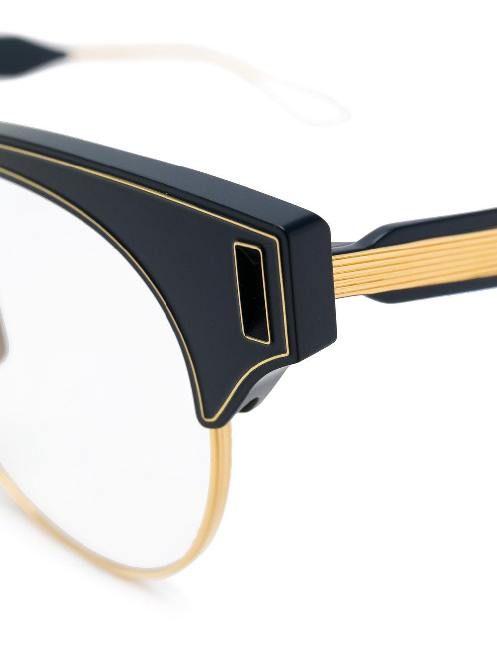 809250fc87 Dita Eyewear Brixa Glasses in Blue - Lyst