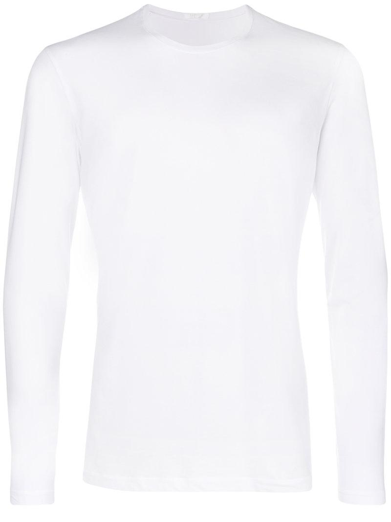 Skin long sleeve T-shirt - White La Perla Cheap Sale Discount Get To Buy Cheap Price Shopping Online Clearance High Quality Buy Online Finishline Online Ma64VPvY5