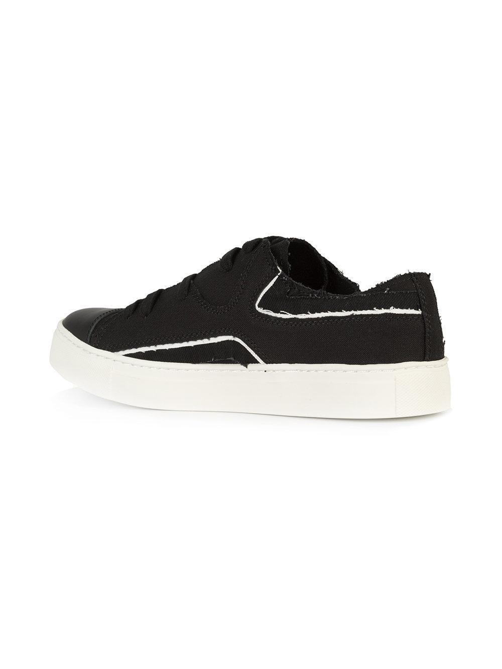 584e6be162dae Yohji Yamamoto - Black Sneakers - Lyst. View fullscreen