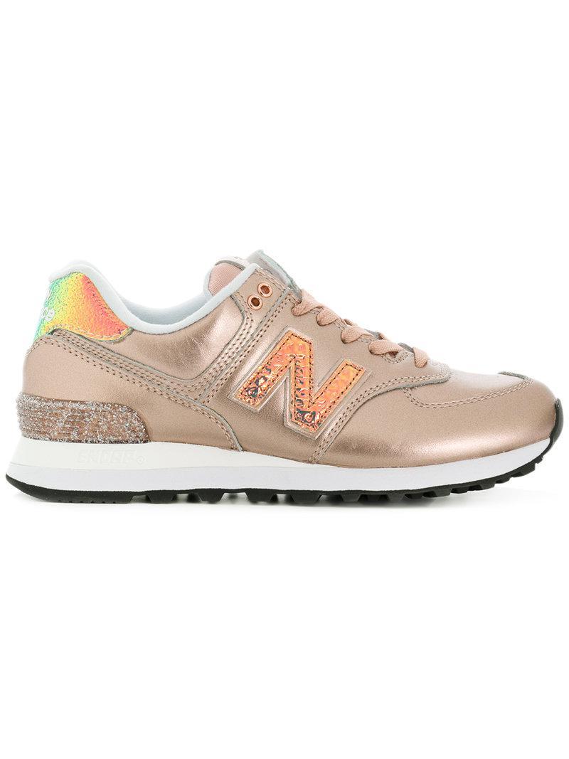 Las Compras En Línea Venta Asequible New Balance Sneakers '574' - Metallic farfetch Expreso Rápido Aclaramiento Mejor 4kQR0PiPZ