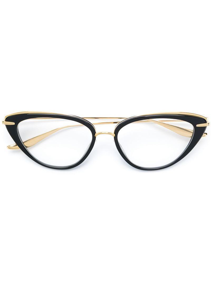 a3de887534c Dita Eyewear Lacquer Optical Glasses in Black - Lyst