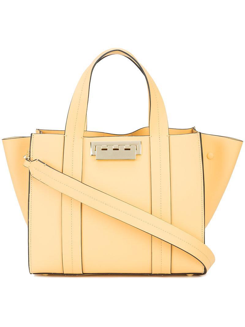Eartha small shopper tote bag - Yellow & Orange Zac Posen CymfshuJ