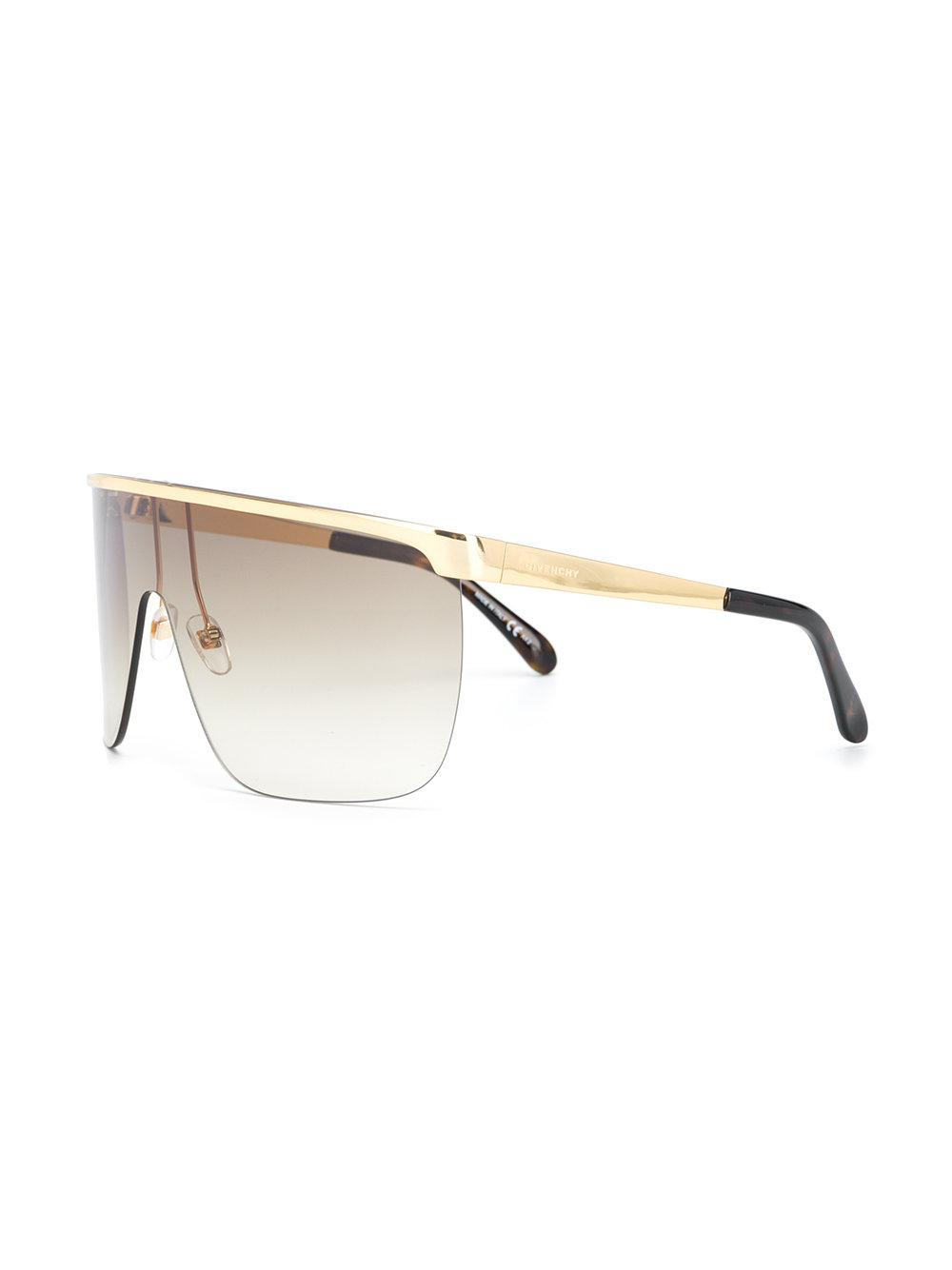 bb6ac253b8b Givenchy Aviator Frame Sunglasses in Metallic for Men - Lyst