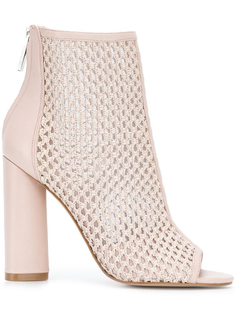 KENDALL + KYLIE Galla Pink Leather Ankle Boots Clearance Original Top Quality For Sale VGagK9mgN