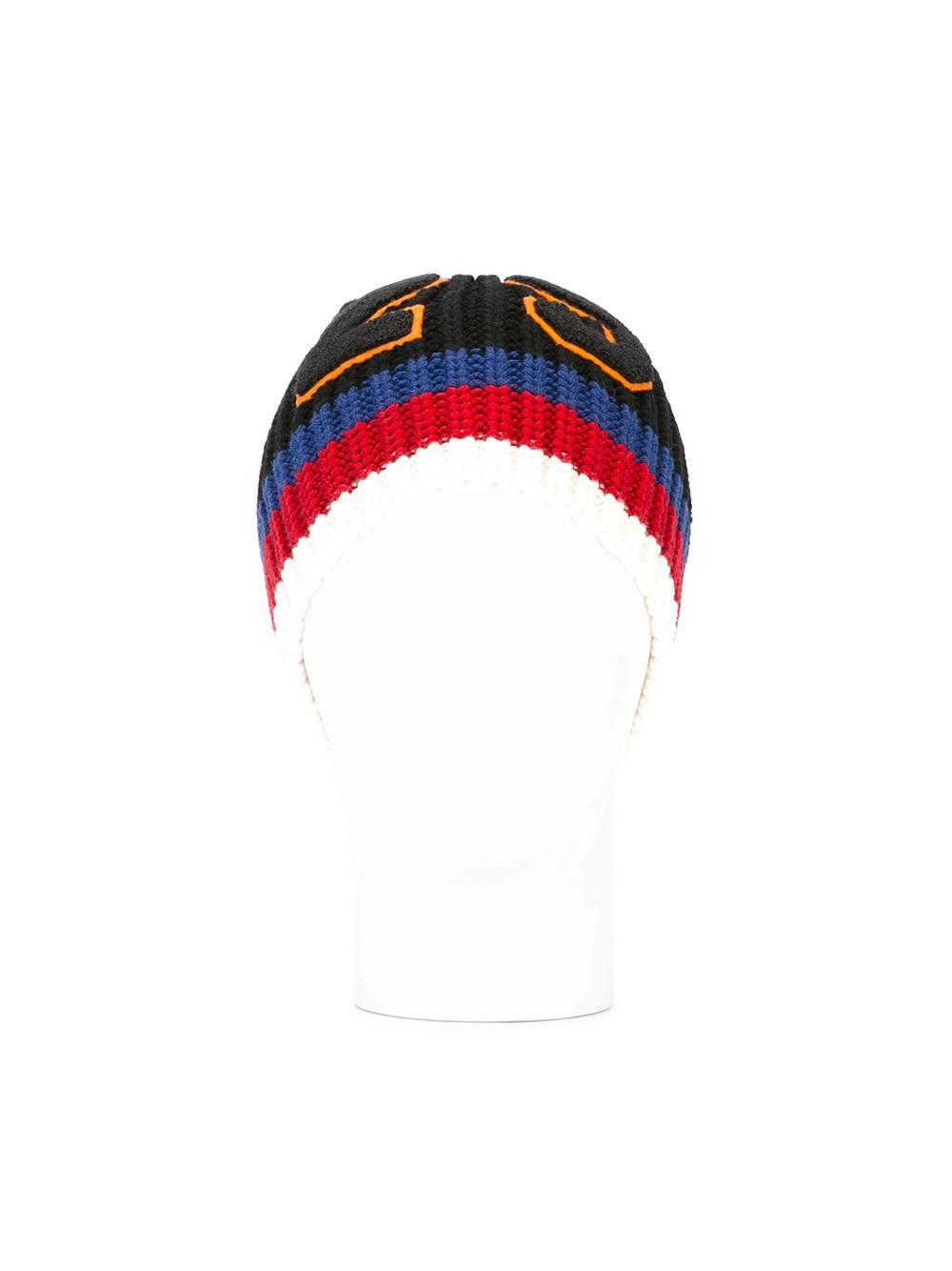 Gucci 25 Ribbed Knit Beanie in Black for Men - Lyst c3c50f02d264