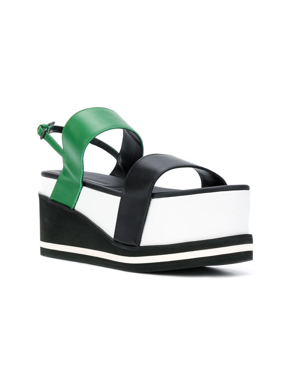colour block flatform sandals - Multicolour A.F.Vandevorst 4we0CBy