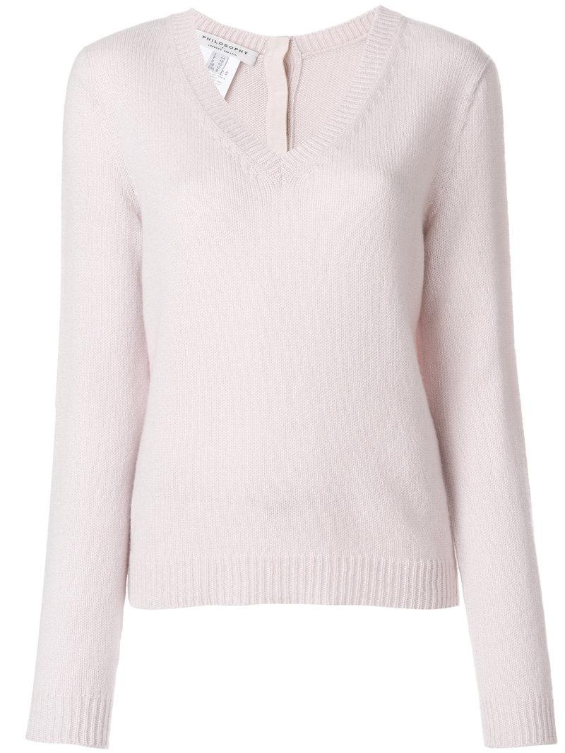 Philosophy Di Lorenzo Serafini funnel neck ribbed jumper Cheap Sale Amazon Quality Outlet Store Discount Perfect Buy Cheap Fast Delivery Cheap Get To Buy hpSRK2N3