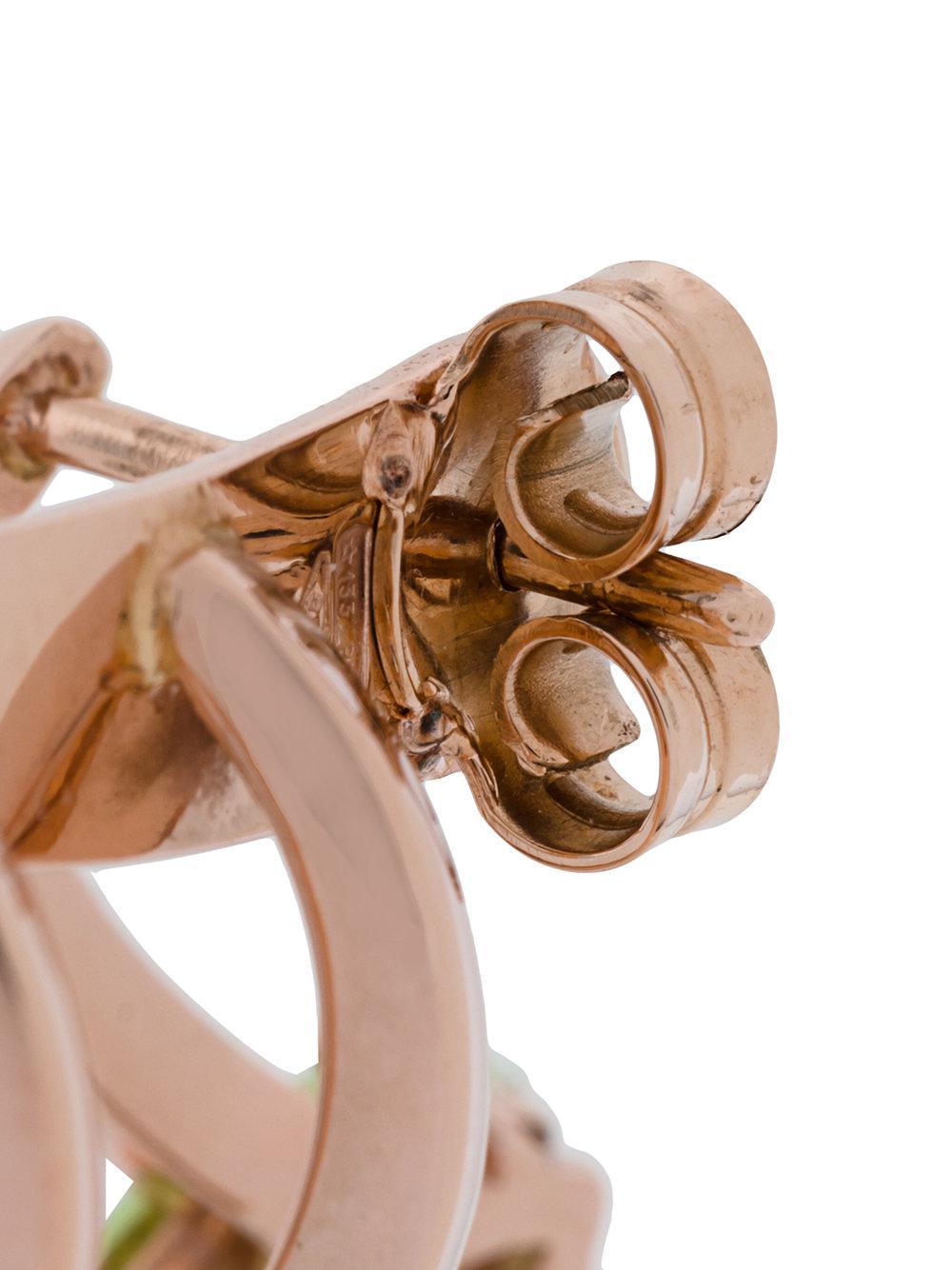 Bea Bongiasca Multi Spiral earring - Metallic 3H1di