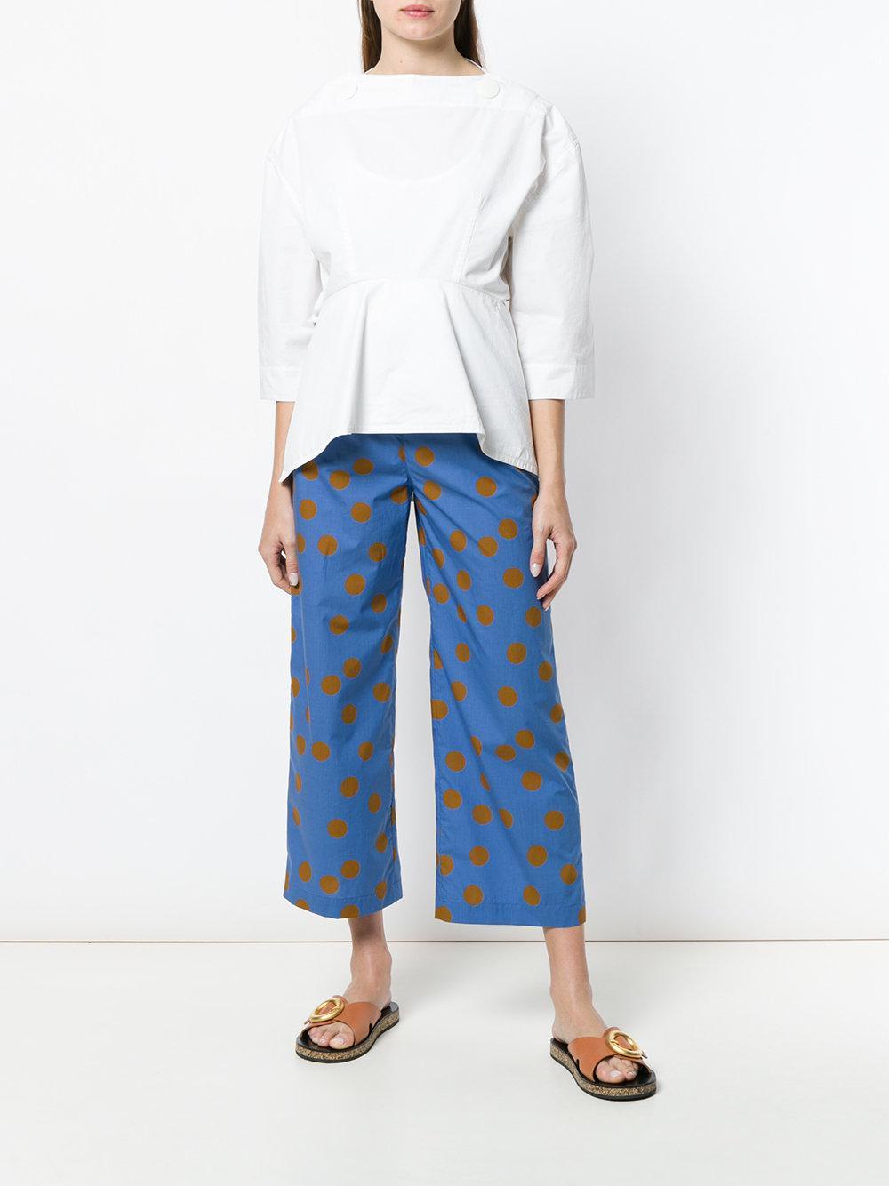 Pantalón Lyst lunares de Aspesi azules HwAU8TqHg