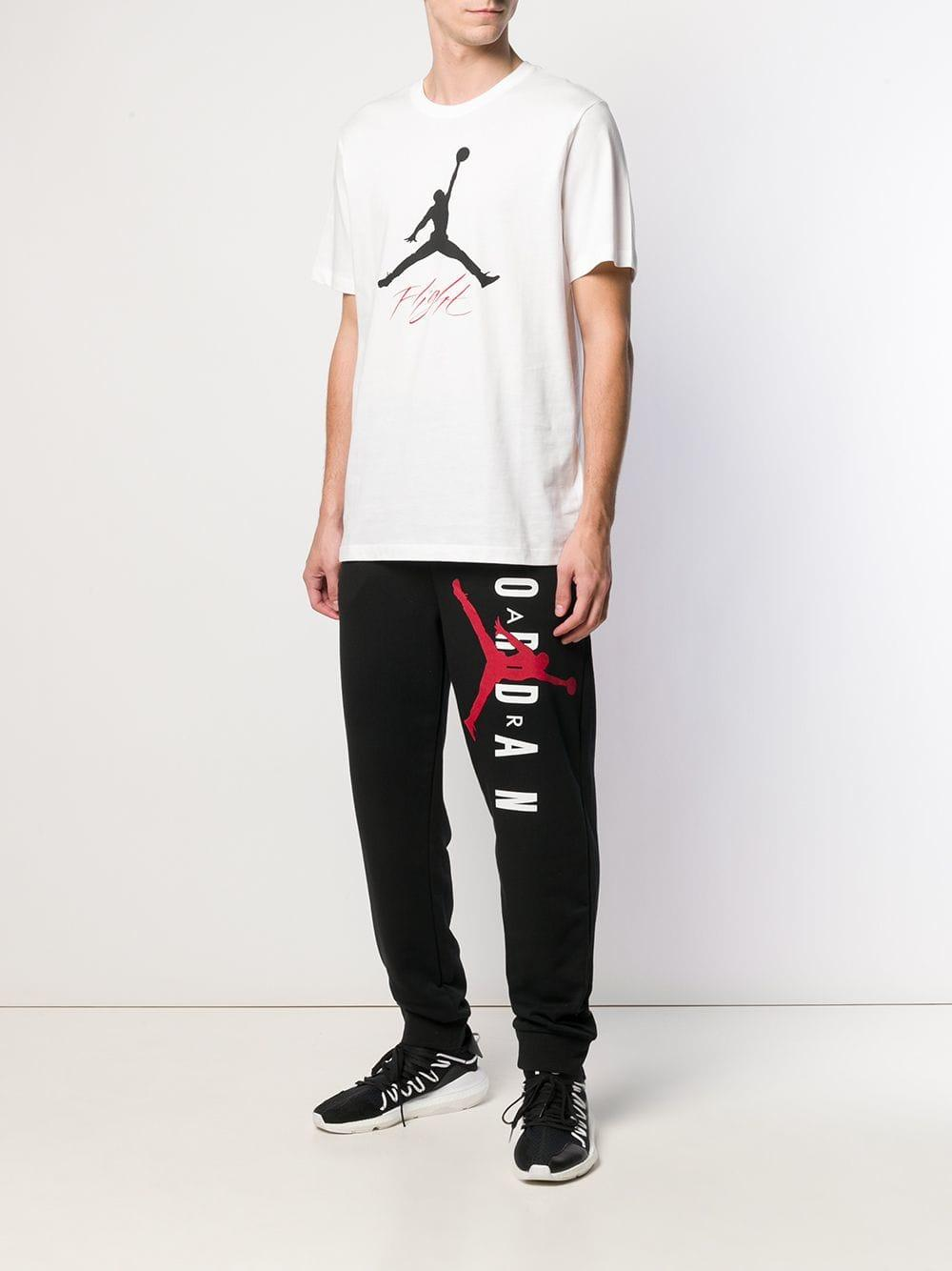 ed58e0fed2ec9d Nike Jordan Jump Man T-shirt in White for Men - Lyst