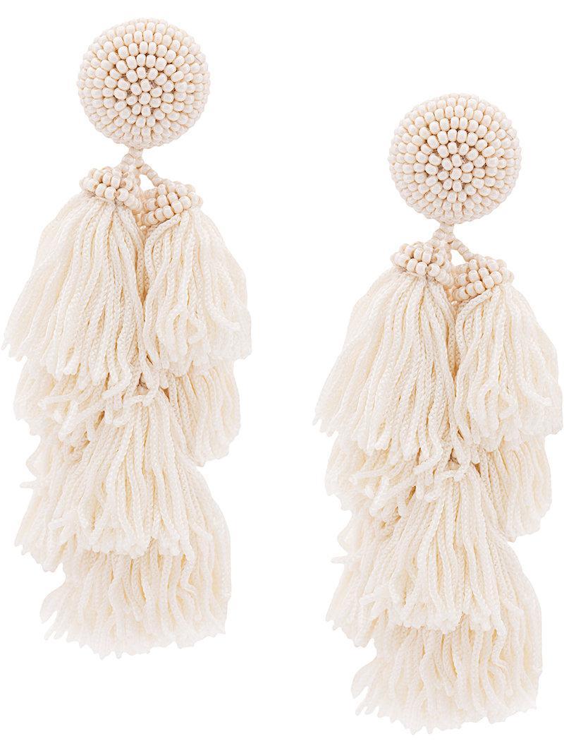 Sachin & Babi Chacha Earrings White EEZp5NuT