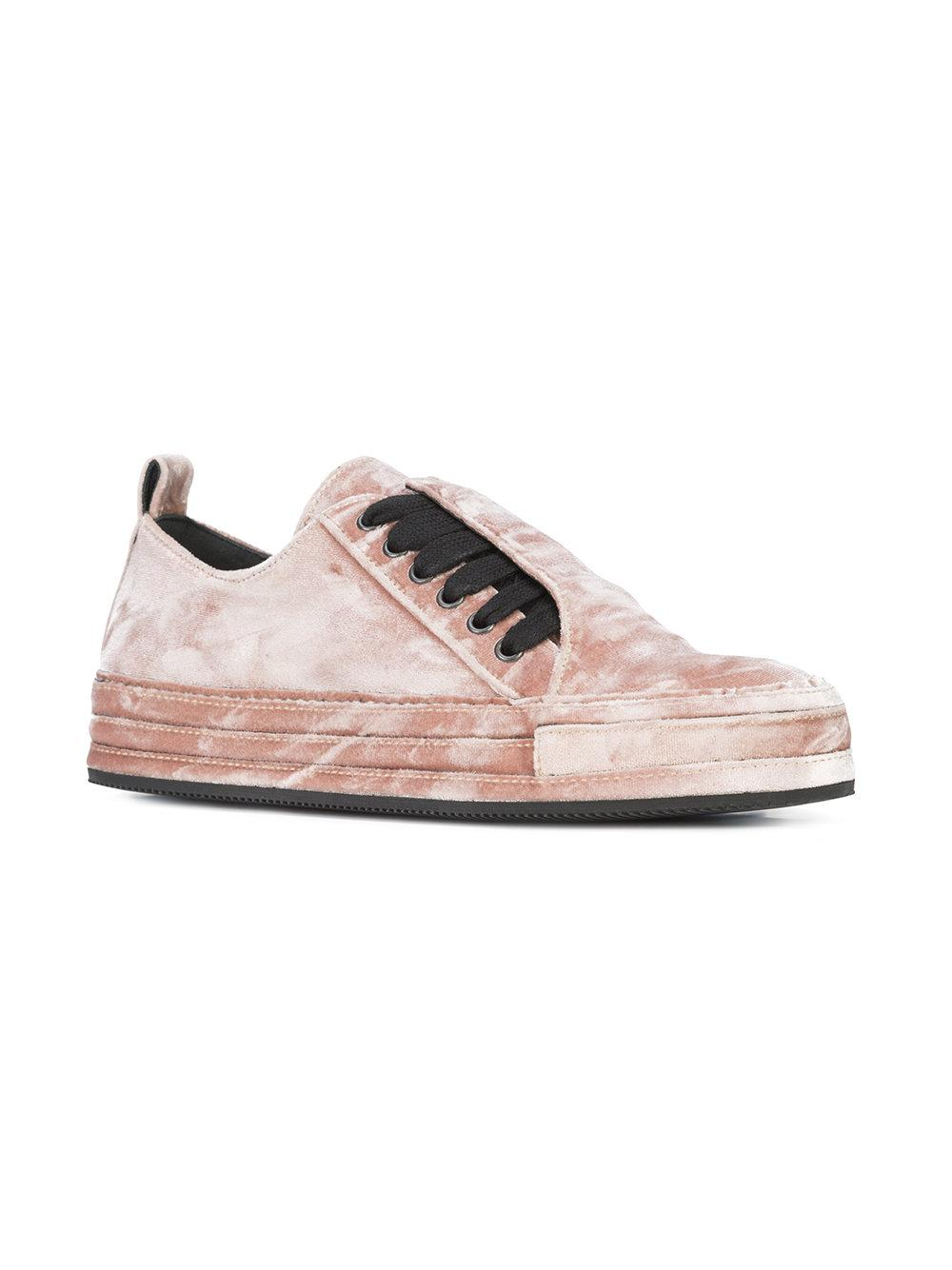lace-up sneakers - Pink & Purple Ann Demeulemeester es2QpHN