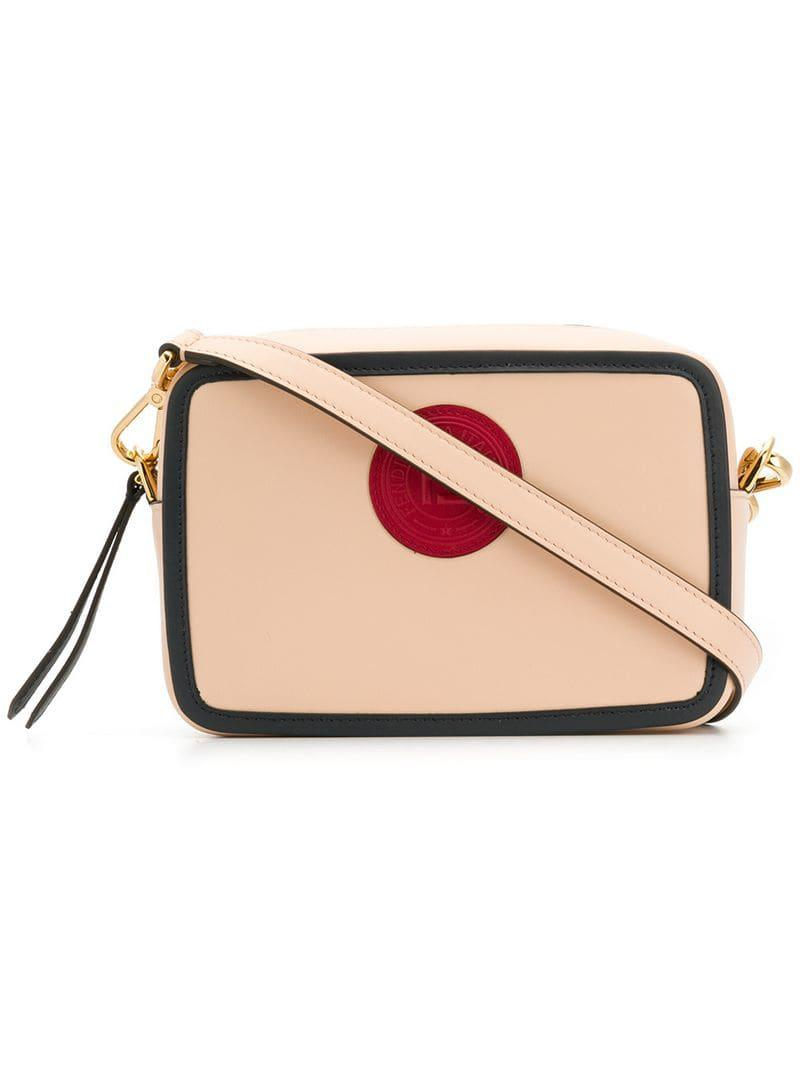 cfe30ea7673 Fendi Small Camera Crossbody Bag in Pink - Lyst