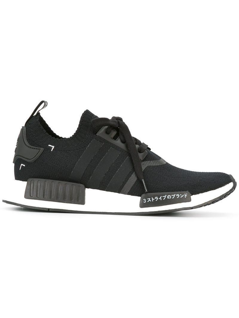 94107a411 Adidas  nmd R1 Pk  Sneakers in Black for Men - Lyst