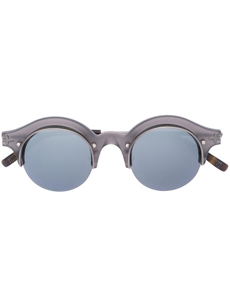 b543b9ab106bb Matsuda Round Shaped Sunglasses in Gray for Men - Lyst