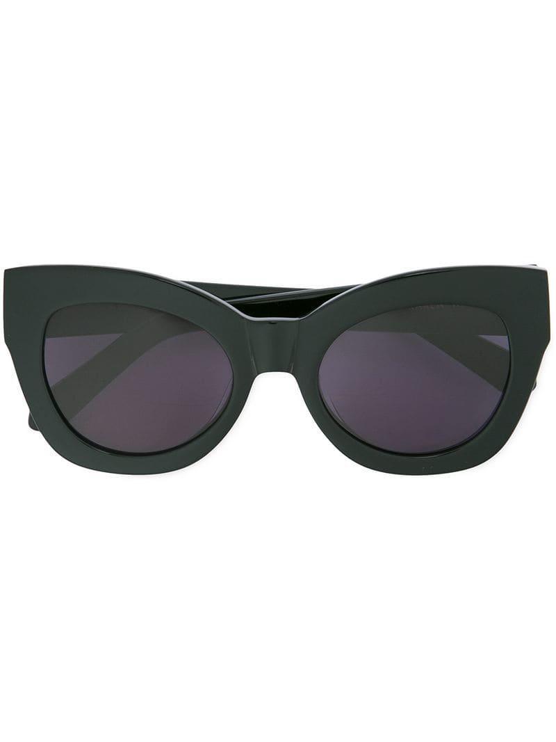 76a6f23f8c Karen Walker Northern Lights Sunglasses in Black - Lyst
