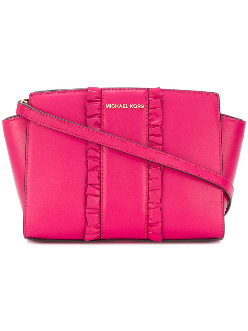 39097906da4a Gallery. Previously sold at: Farfetch · Women's Leather Messenger Bags  Women's Michael By Michael Kors Selma ...