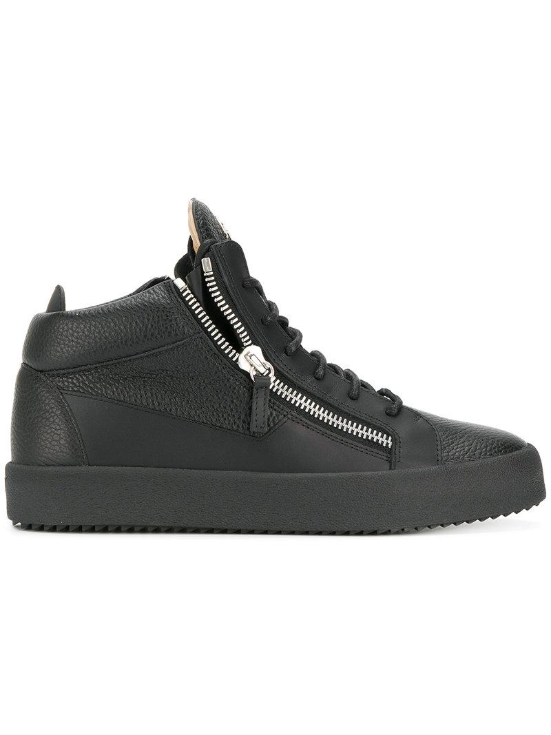 8f4e38f7c2eae Giuseppe Zanotti Kriss Sneakers in Black for Men - Lyst