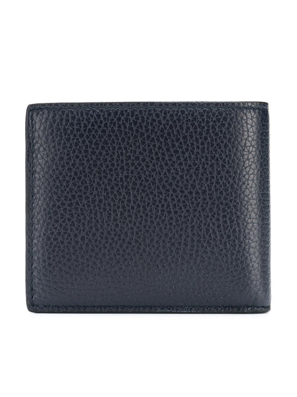ca310fa0027 Lyst - Gucci Billfold Wallet in Blue for Men