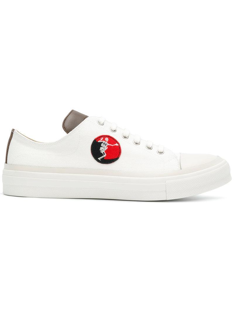 Y-3 White Skeleton Patch Sneakers YTh4XapT