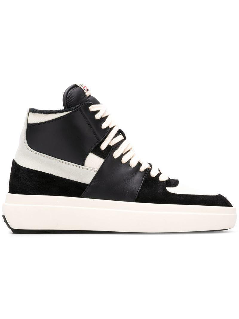 08598ebde643 Lyst - Represent Hi-top Sneakers in Black for Men - Save 66%