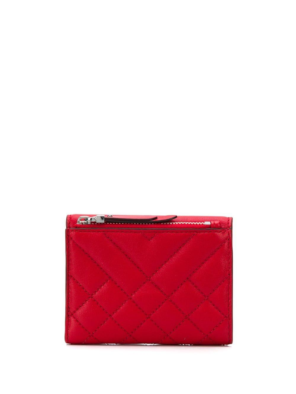 43369b2105e96 Lyst - MICHAEL Michael Kors Trifold Wallet in Red for Men