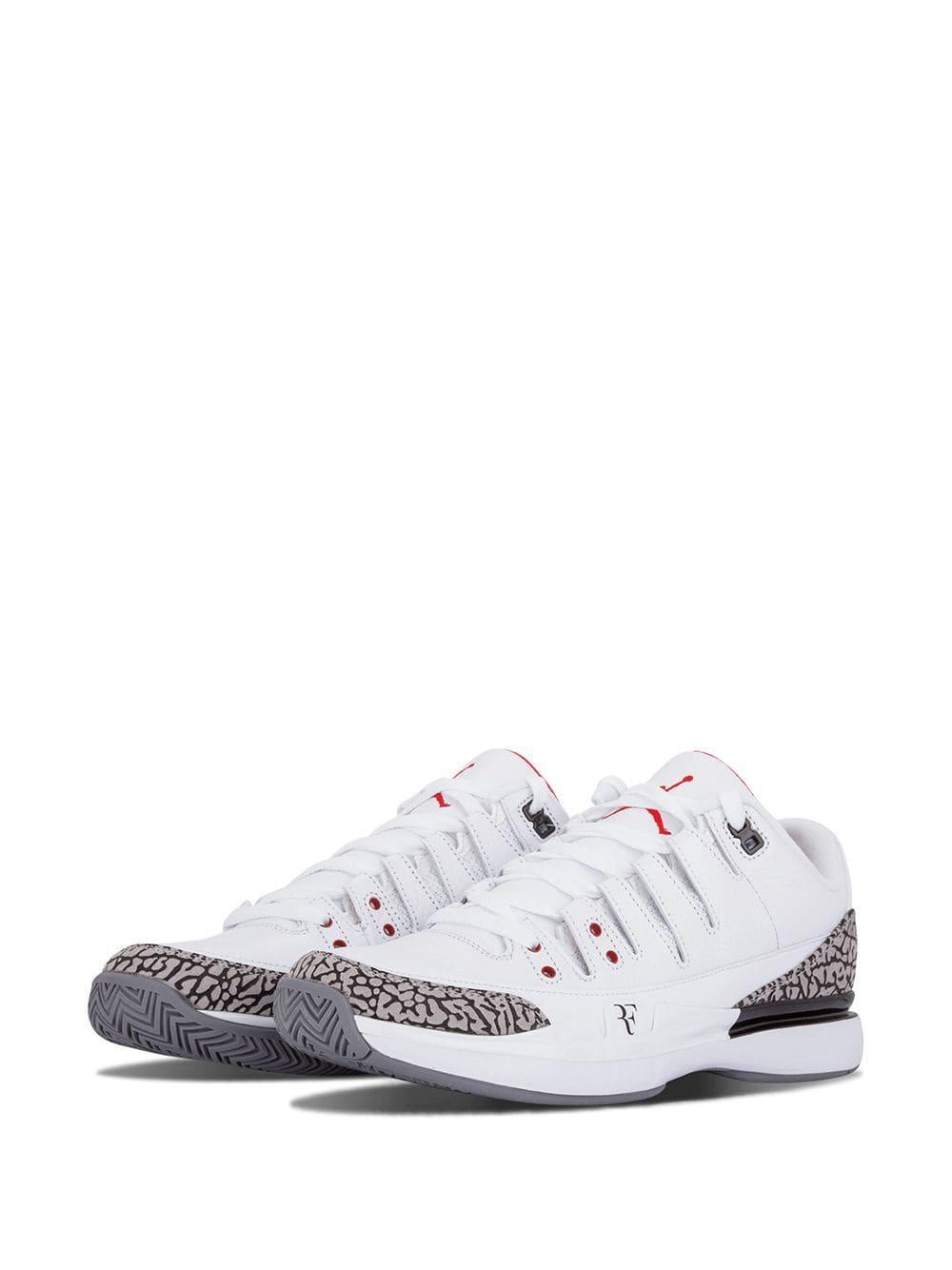 b16744da22fa Lyst - Nike Zoom Vapor Aj3 Sneakers in White for Men