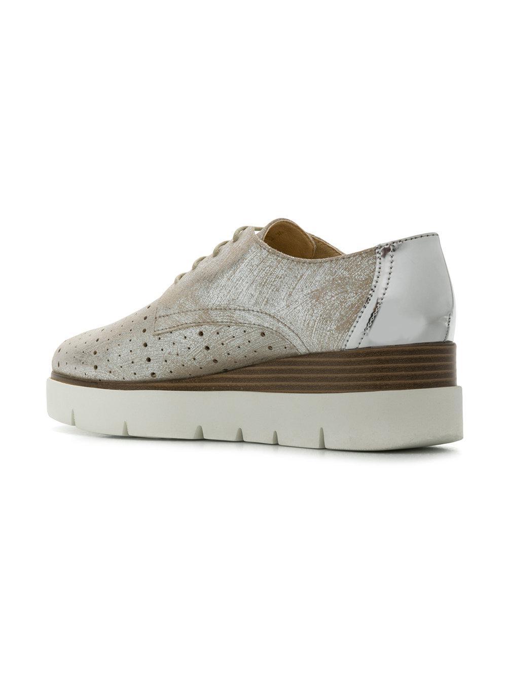 Geox Kattilou Chaussures À Lacets - Métalliques Yd5hwkas