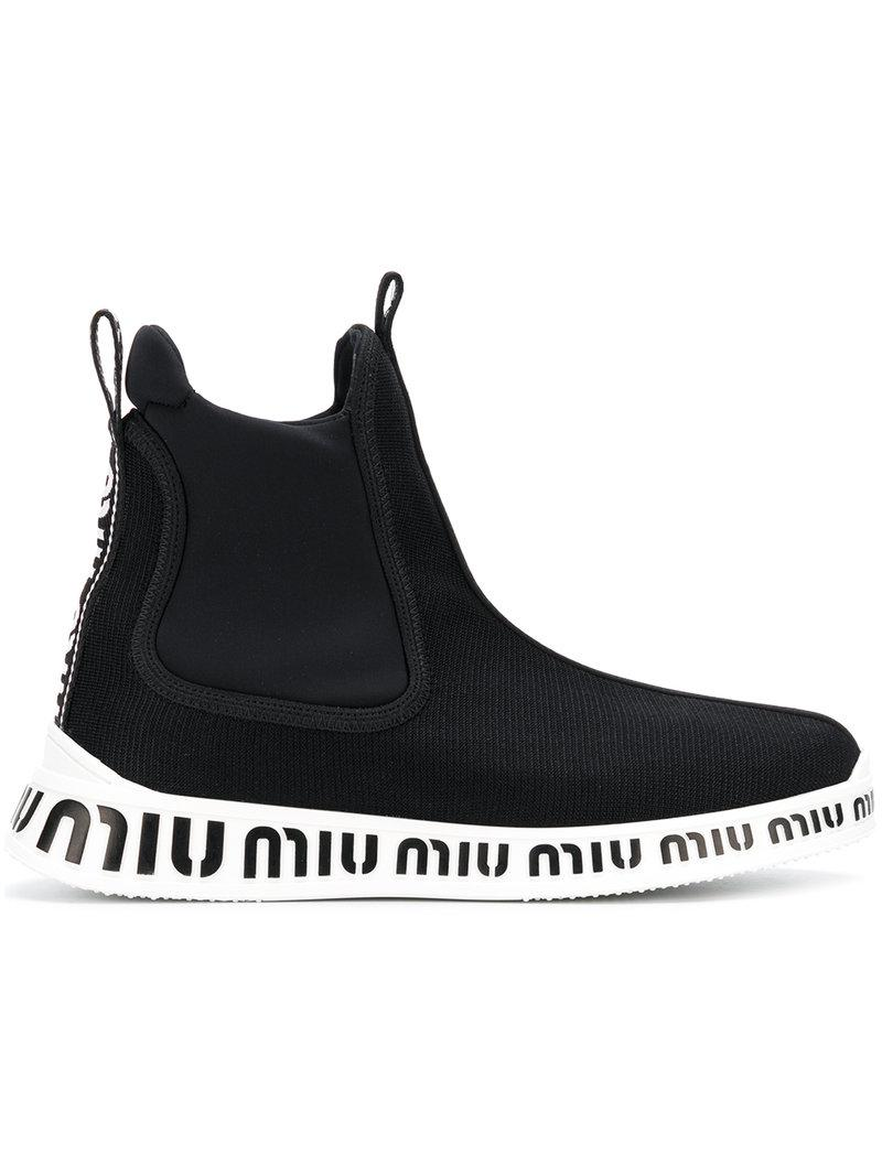 Miu Miu ankle sock sneakers buy cheap get to buy pre order for sale AxGieu