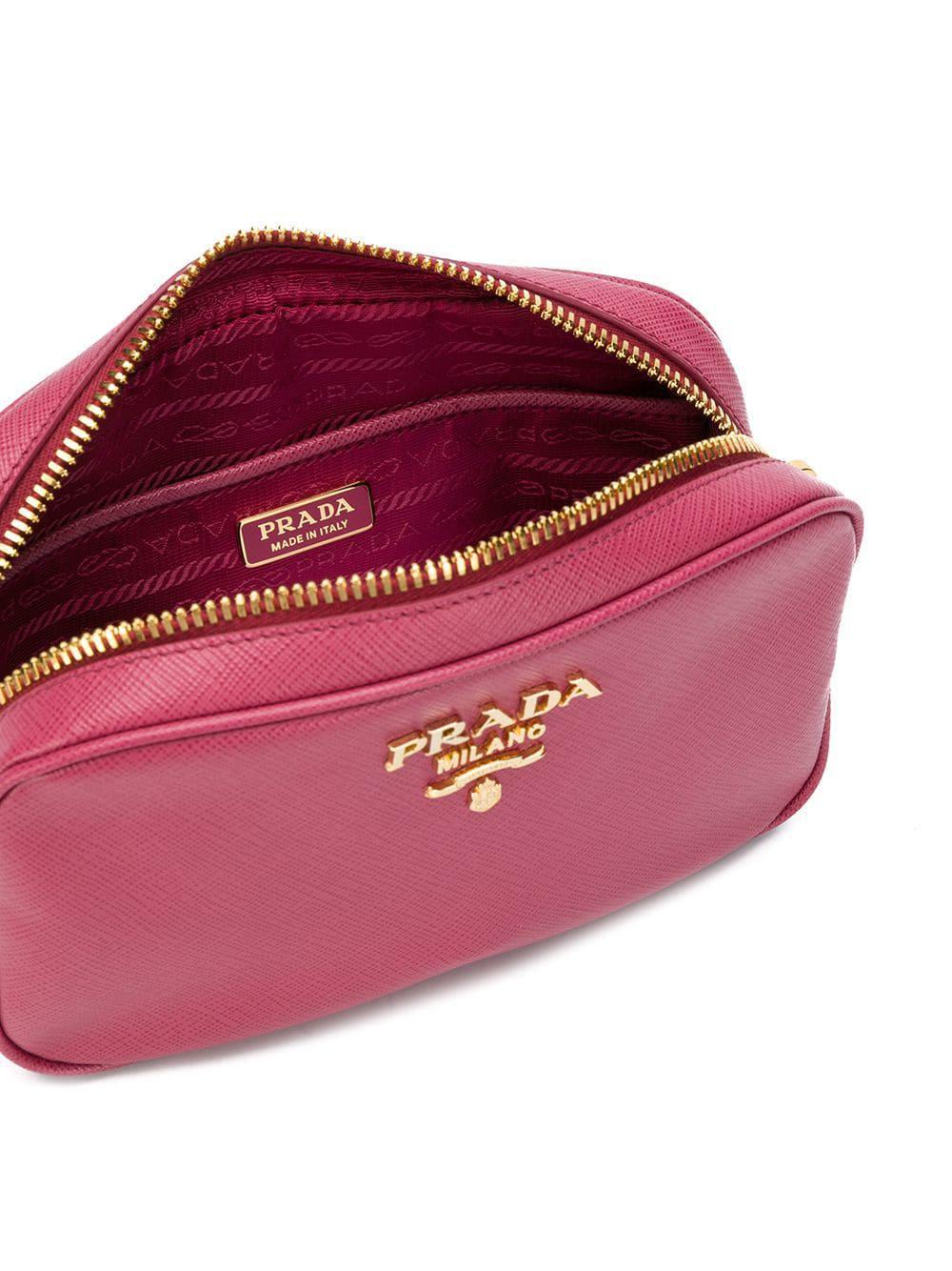 26c550332300 ireland prada logo plaque belt bag abeec e592e; aliexpress prada pink  saffiano leather belt bag lyst. view fullscreen 99e1d 61e07