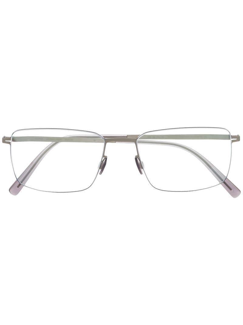 3ddacd33a2 Mykita Rectangular Glasses Frames in Metallic for Men - Lyst
