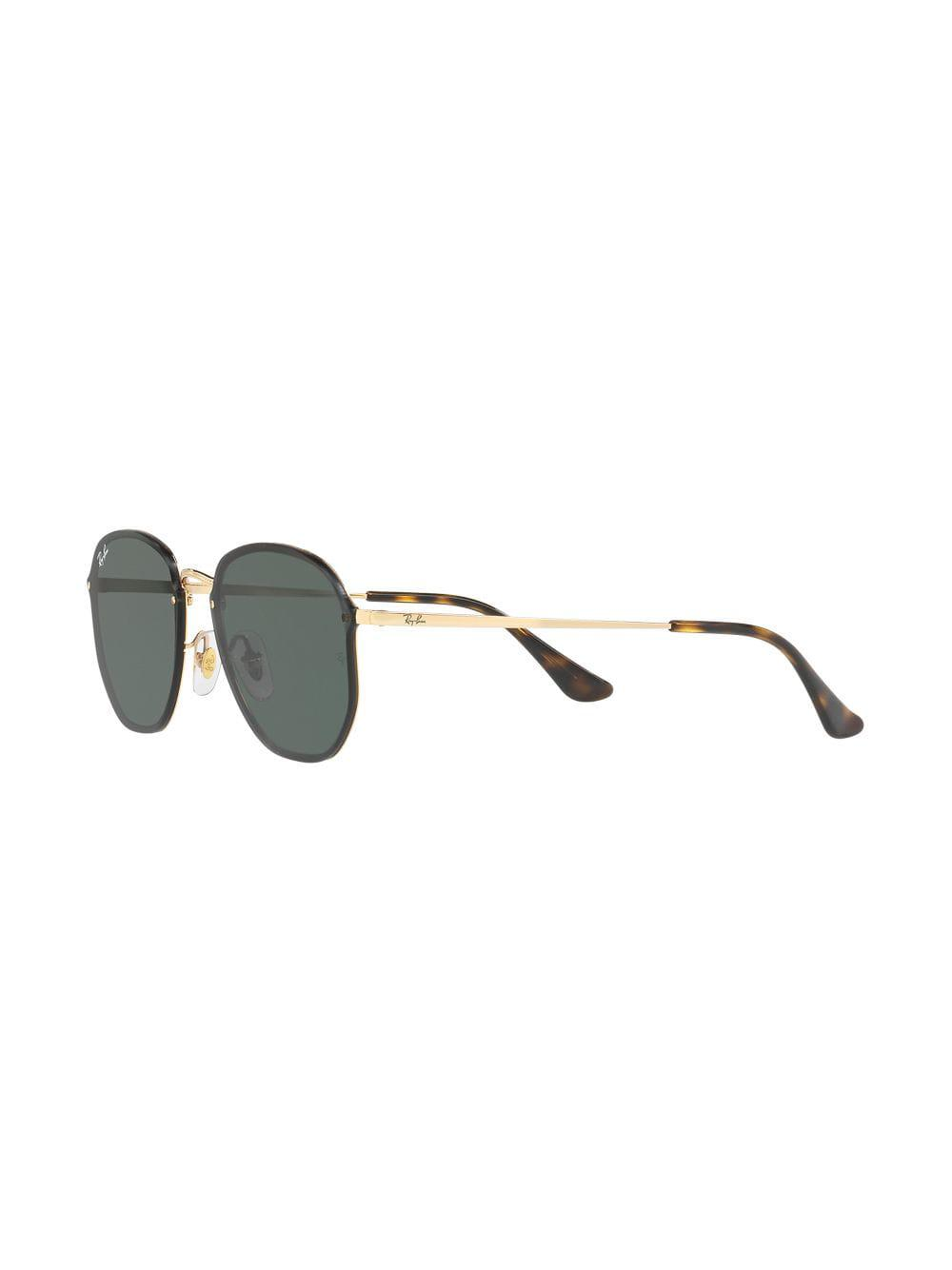 387a6a29f8 Ray-Ban - Metallic Blaze Hexagonal Sunglasses - Lyst. View fullscreen