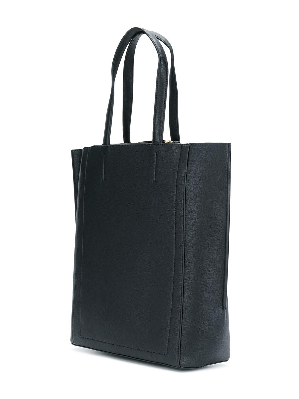 large shopper tote bag - Black Calvin Klein Jeans SOCDNh3