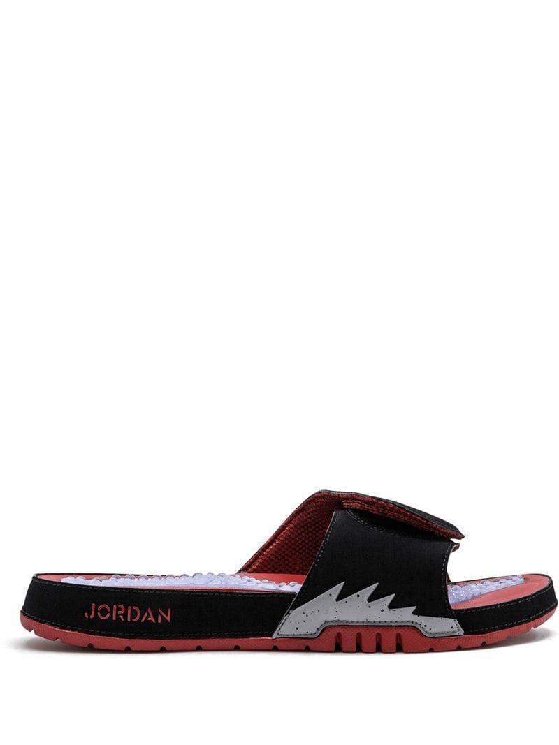 99fe854ca3 Nike Hydro V Retro Slides in Black for Men - Lyst