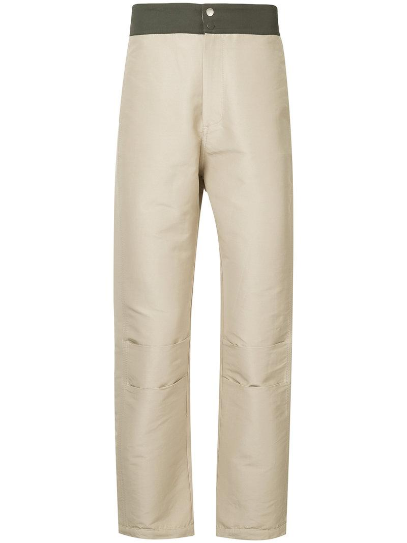 Cooler Future tailored trousers - Brown Ex Infinitas Sale Choice 9TMcWub8V