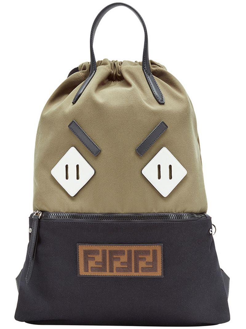 fb935ed1f91c Fendi Bag Bugs Backpack in Green for Men - Lyst
