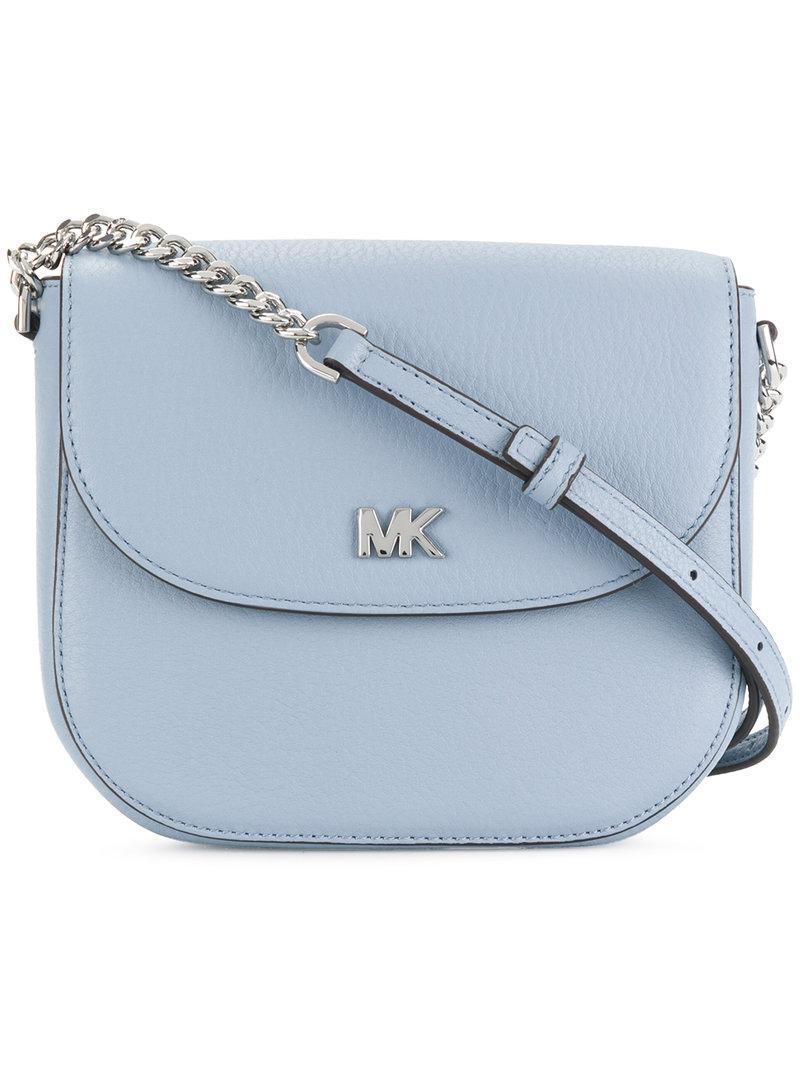 d90146a92fbe Lyst - Michael michael kors Cross Body Bag in Blue