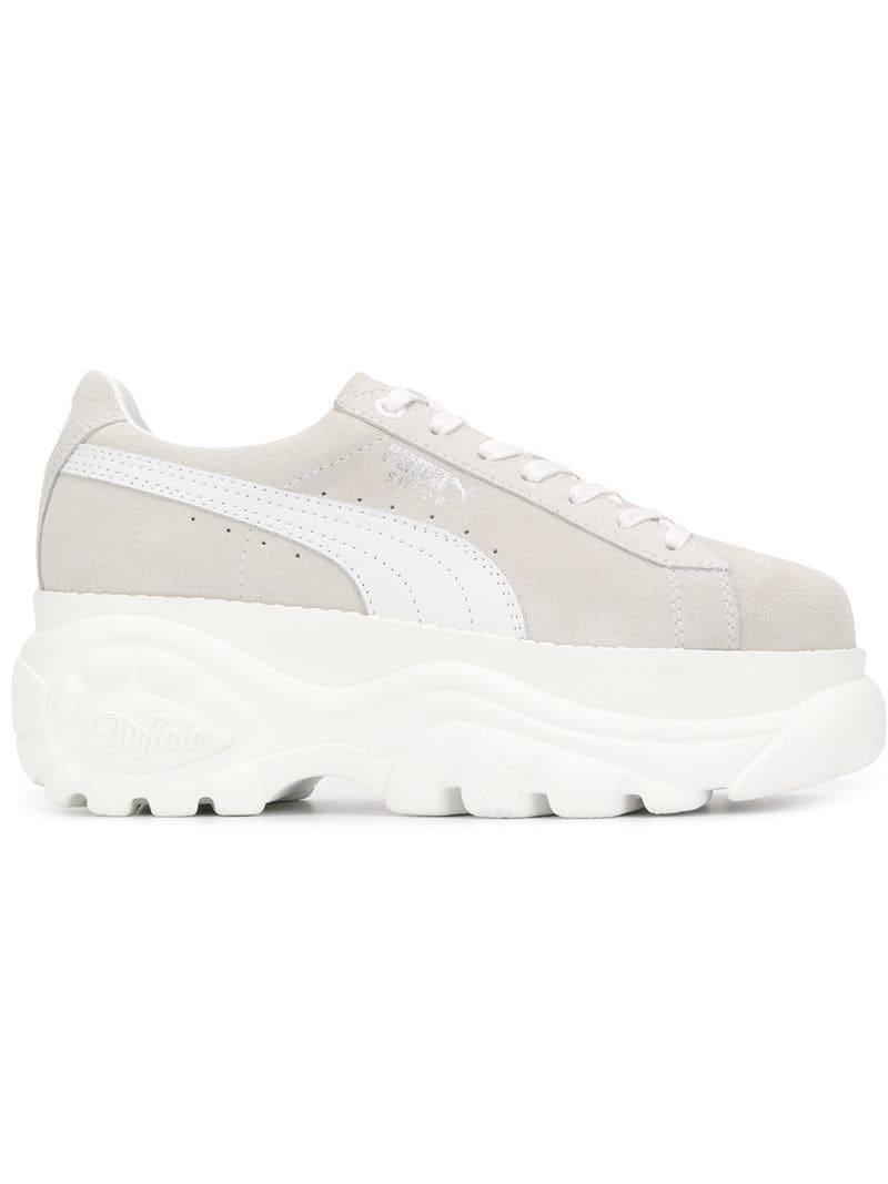 4c7e47b56344 Lyst - PUMA X Buffalo Platform Sneakers in White