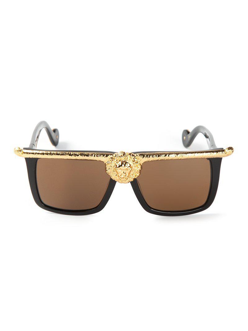 1c084270279 Anna Karin Karlsson  The Lioness  Sunglasses in Black - Lyst