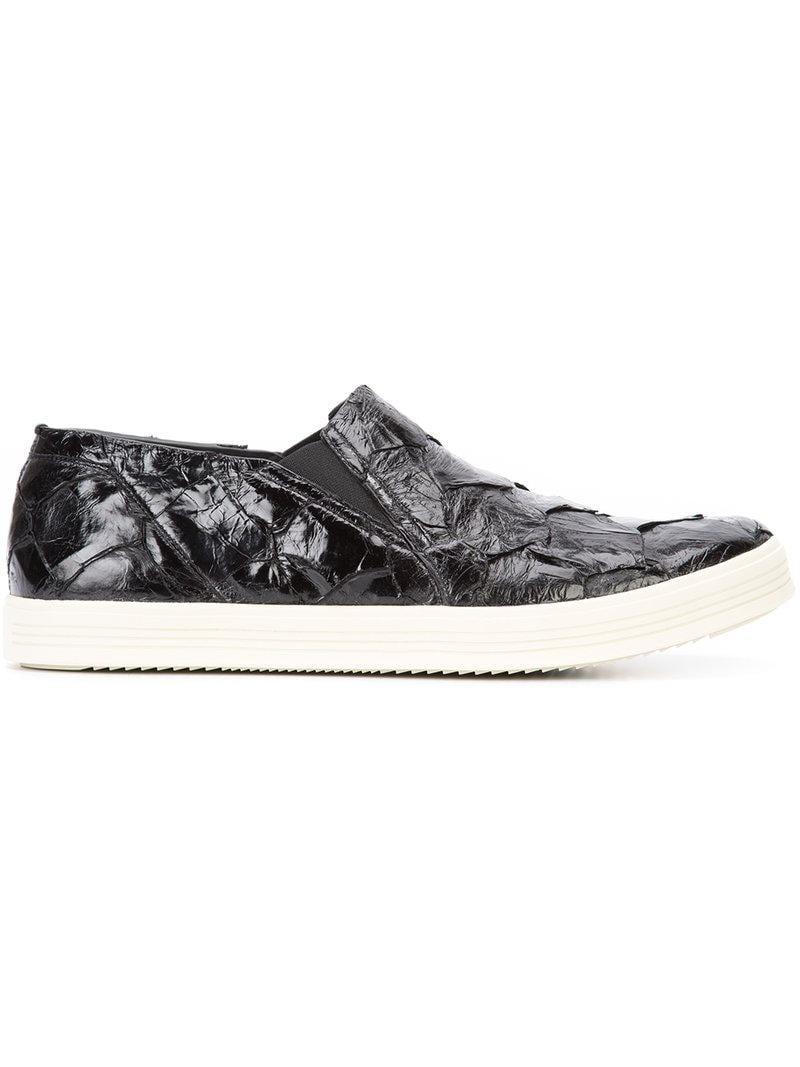 Rick Owens Morses Chaussures De Pont - Noir Mastodonte R3SR6So