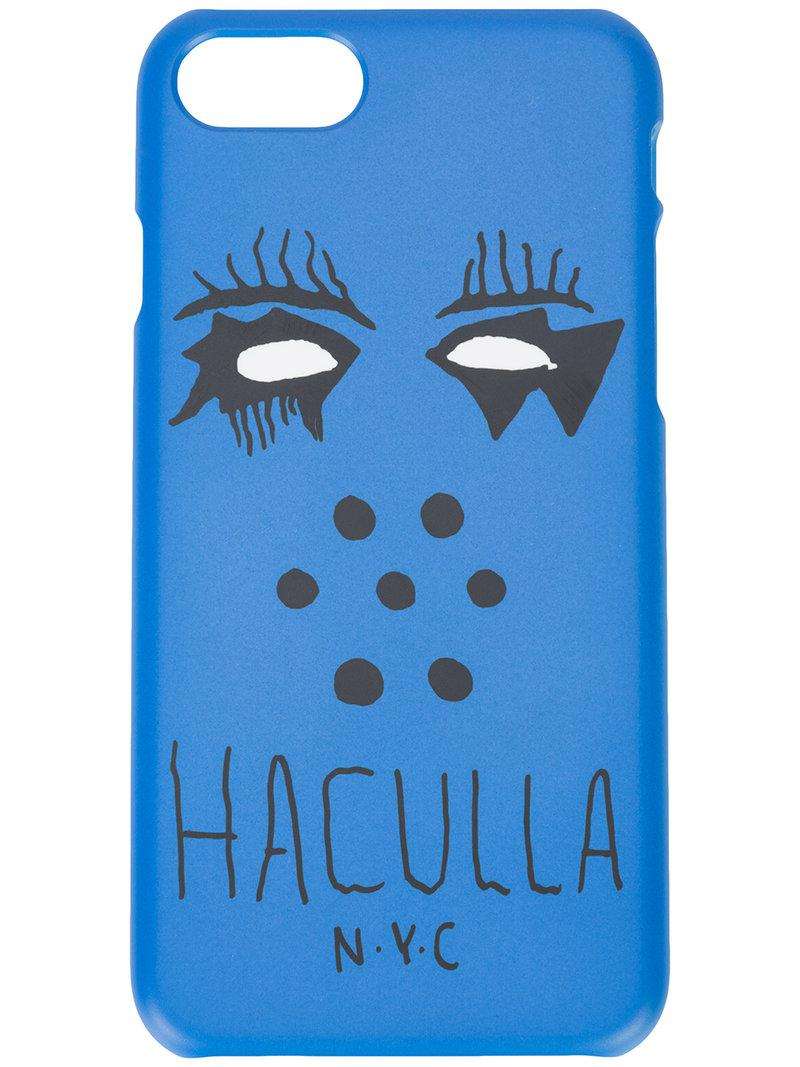 149a3323a19 Funda de iPhone 7/8 Plus nobody's face Haculla de color Azul - 8 ...