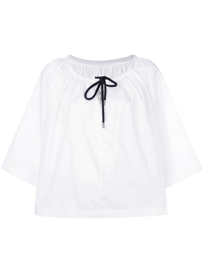 Antonio Marras drawstring blouse Latest Collections Online Release Dates Cheap Online Best Seller Cheap Online twDMdPaC