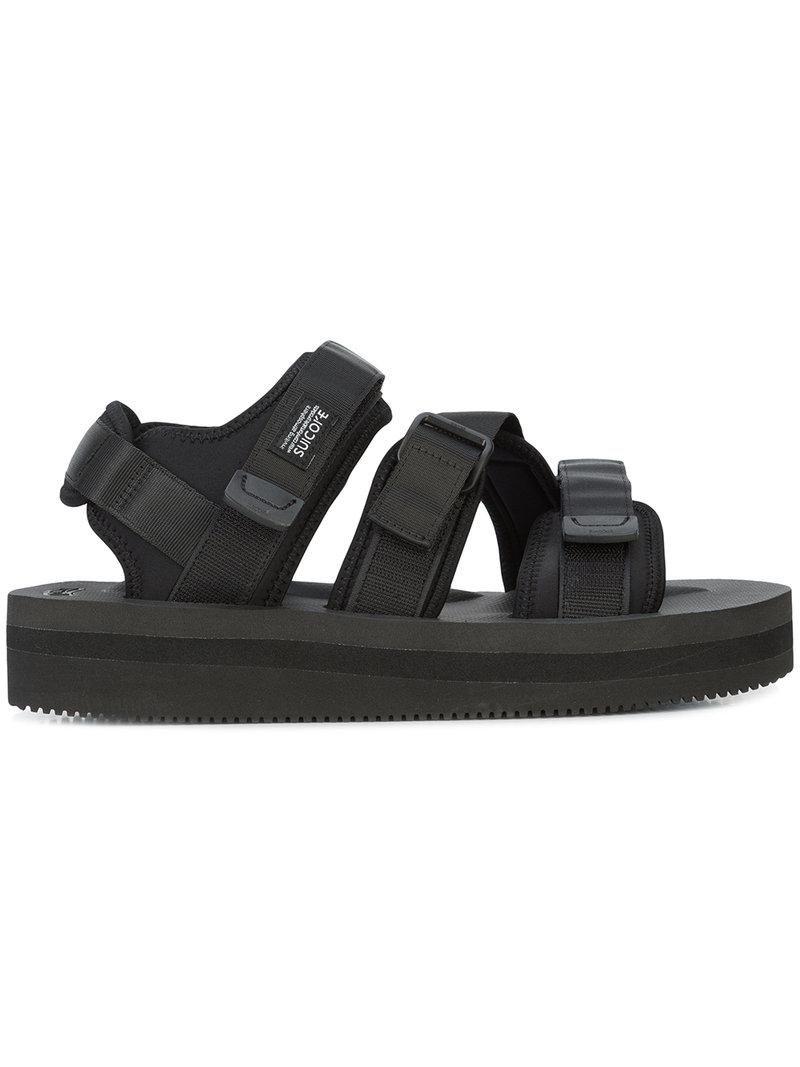 6cdcfd245d0 Lyst - Suicoke Kisee-vpo Sandals in Black