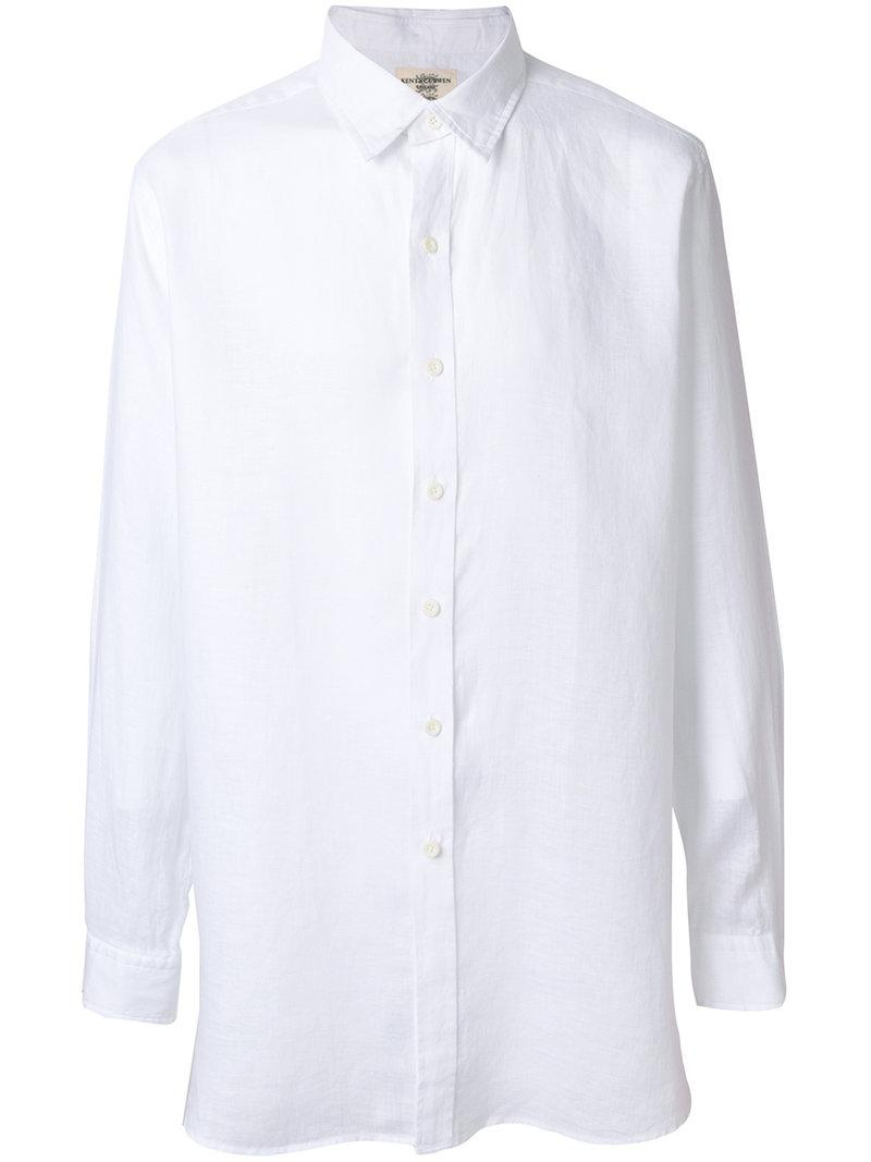 Red Pre Order Eastbay Clearance Outlet Locations classic formal shirt - White Kent & Curwen Reliable For Sale Supply Cheap Online NNzIi