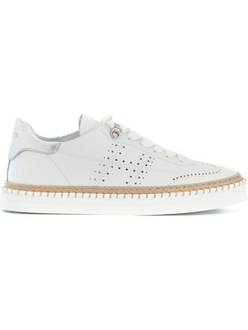 brogue detail sneakers - White Hogan kstnAMtx