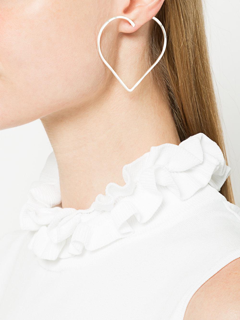 Azza earring - Metallic SeeMe UcwDOf